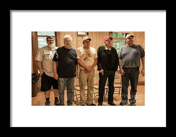 Framed Print featuring the photograph The Boys by Cathy Misze