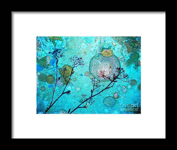 Rust Framed Print featuring the photograph The Branches And The Moon by Tara Turner