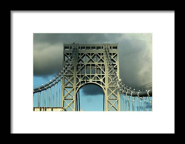 Bridge Framed Print featuring the photograph The Bridge by Paul SEQUENCE Ferguson       sequence dot net