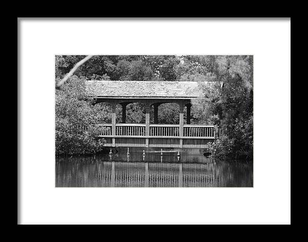 Architecture Framed Print featuring the photograph The Bridges Of Miami Dade County by Rob Hans
