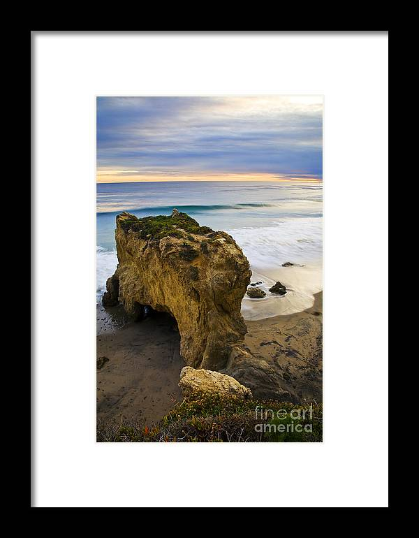 Beaches Framed Print featuring the photograph The Bull by Greg Clure