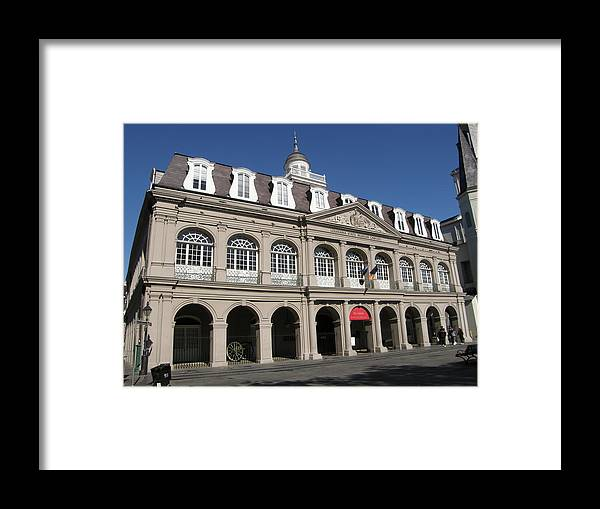 New Orleans Framed Print featuring the photograph The Cabildo by Jack Herrington