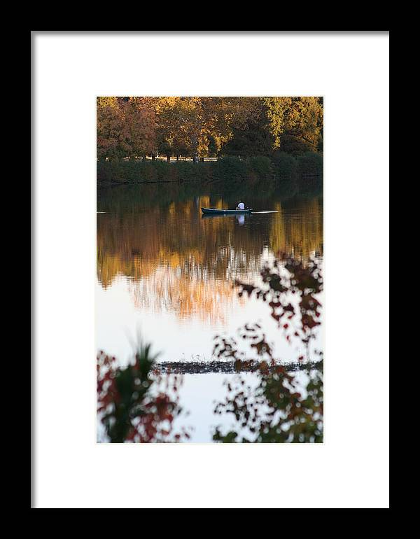 Boat Framed Print featuring the photograph The Calm Waters by Greg Sharpe
