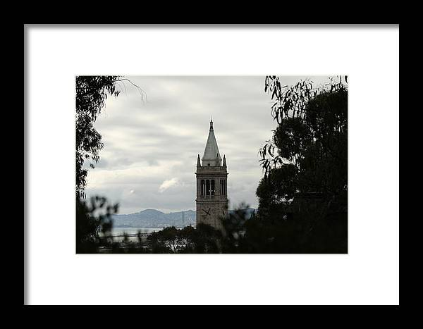 Uc Berkeley Framed Print featuring the photograph The Campanile by Lennie Green