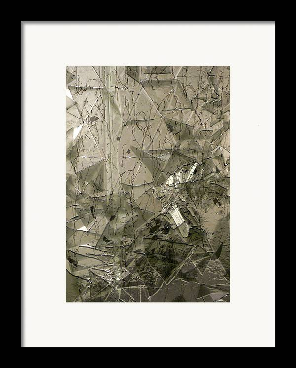 Glass Framed Print featuring the sculpture the 'Casuarina Understory' by Sarah King