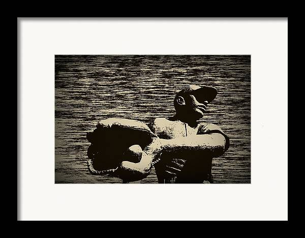 Baseball Framed Print featuring the photograph The Catch by Bill Cannon