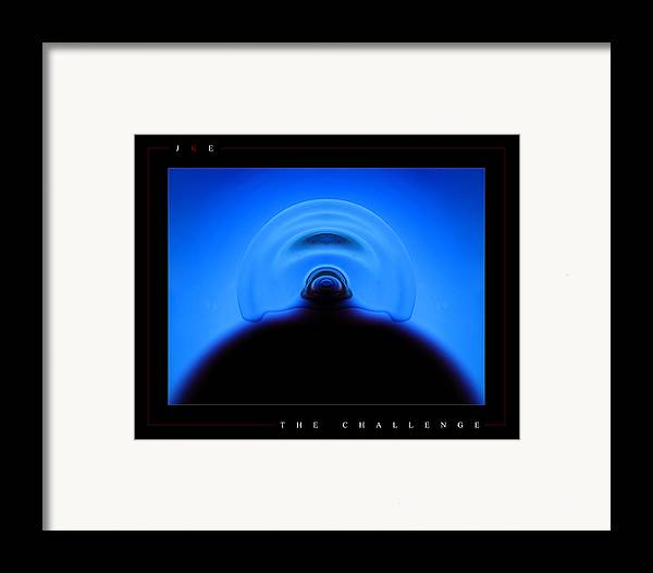 Challenge Framed Print featuring the photograph The Challenge by Jonathan Ellis Keys