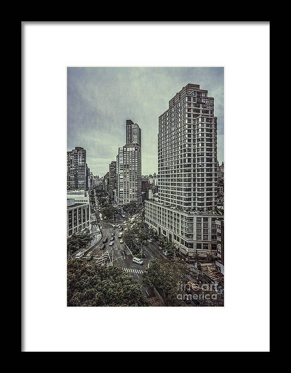 Kremsdorf Framed Print featuring the photograph The City Shuffle by Evelina Kremsdorf