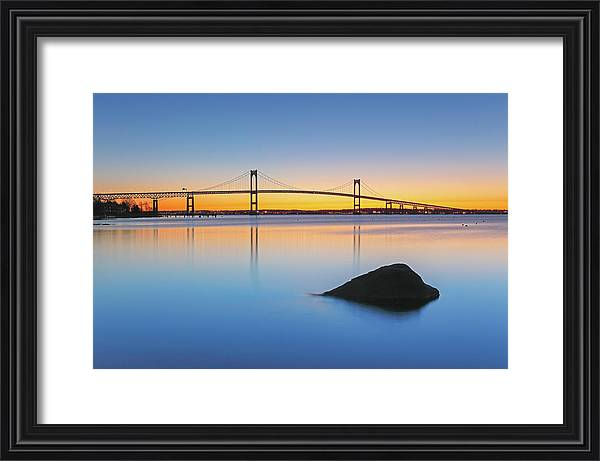 The Claiborne Pell Bridge by Juergen Roth