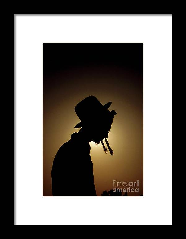 Judaism Framed Print featuring the photograph The Coat by Harel Stanton