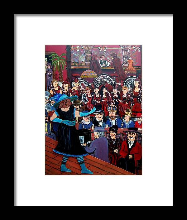 St. Paul Winter Carnival Framed Print featuring the painting The Competition by Richard Hubal