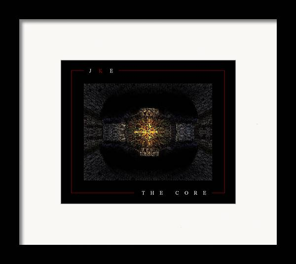 Car Framed Print featuring the photograph The Core by Jonathan Ellis Keys