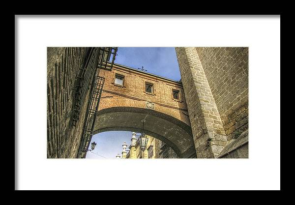 Photography Framed Print featuring the photograph The Corridor by Ignacio Leal Orozco