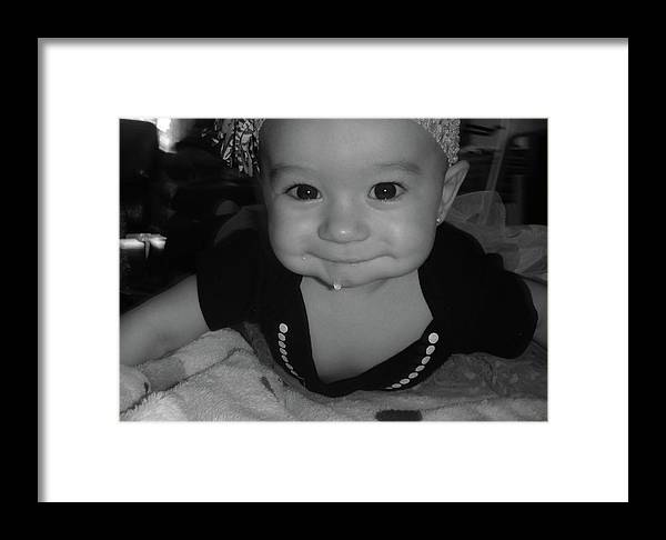 Drool Framed Print featuring the photograph The Cutest Drool by WaLdEmAr BoRrErO