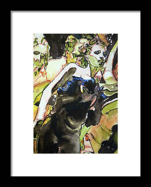 Dance Framed Print featuring the painting The Dance by P Maure Bausch