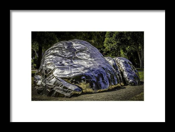 Beverly Framed Print featuring the photograph The Death Of Chrome by Vincent Asbjornsen