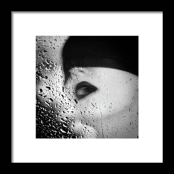 Portrait Framed Print featuring the photograph The Depth Of Self-delusion by Zapista Zapista