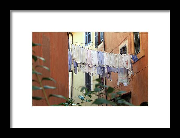 Rome Framed Print featuring the photograph The Display by Munir Alawi