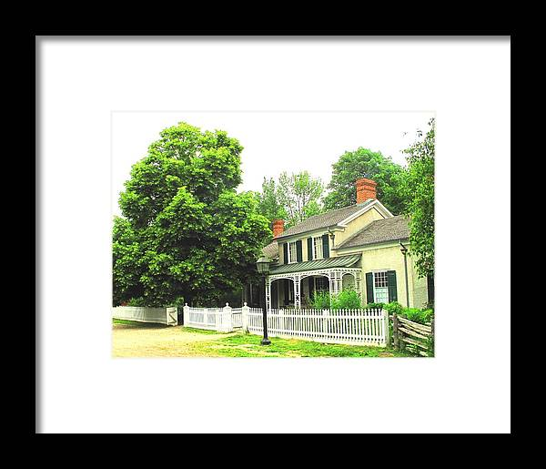 Doctor Framed Print featuring the photograph The Doctors House by Ian MacDonald
