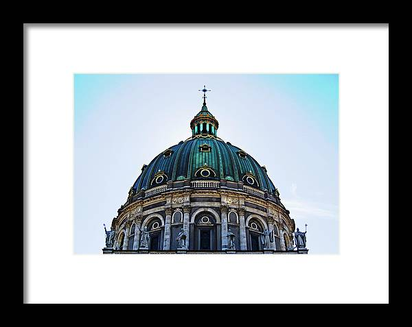 The Framed Print featuring the photograph The Dome by HazelPhoto