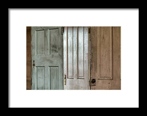 Doors Framed Print featuring the photograph The Doors by Michael McGowan
