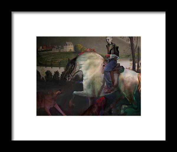 Dream Framed Print featuring the digital art The Dream 1 by Henriette Tuer lund