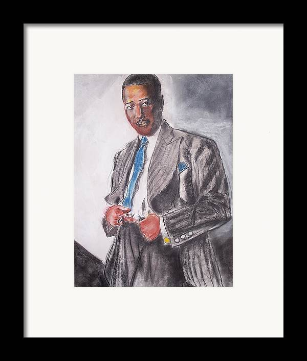 Jazz Framed Print featuring the print The Duke At The Cotton Club by Darryl Hines