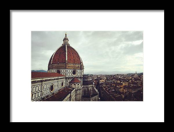 Florence Framed Print featuring the photograph The Duomo by Abigail Scott