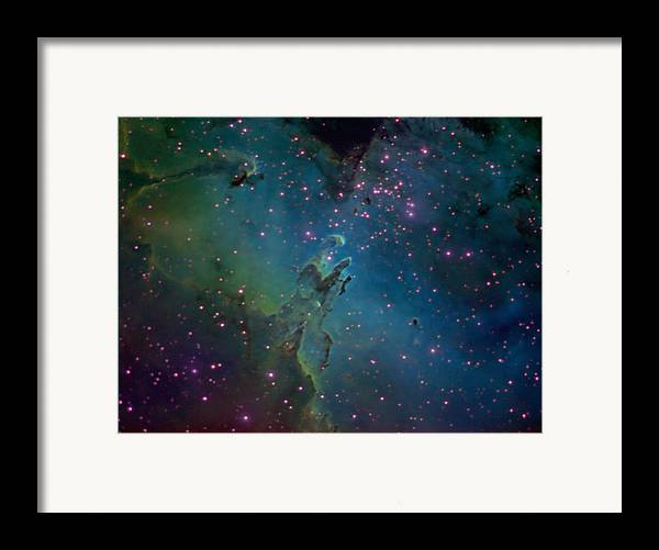 Astronomy Framed Print featuring the photograph The Eagle by Charles Warren