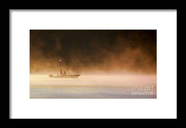 Framed Print featuring the photograph The Early Bird Get's The Fish by Patricia L Davidson