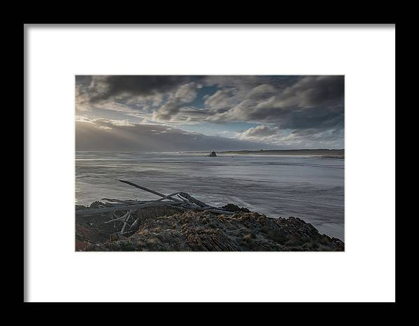 Tasmania Australia Framed Print featuring the photograph The Edge - Of The World - Tasmania by Mark Christian