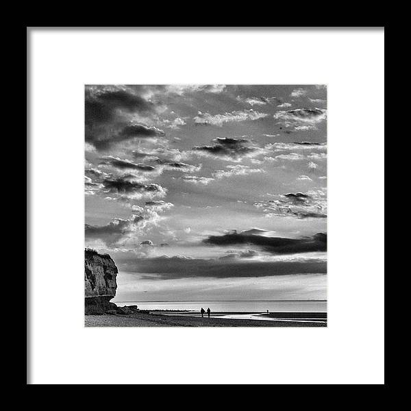 Natureonly Framed Print featuring the photograph The End Of The Day, Old Hunstanton by John Edwards