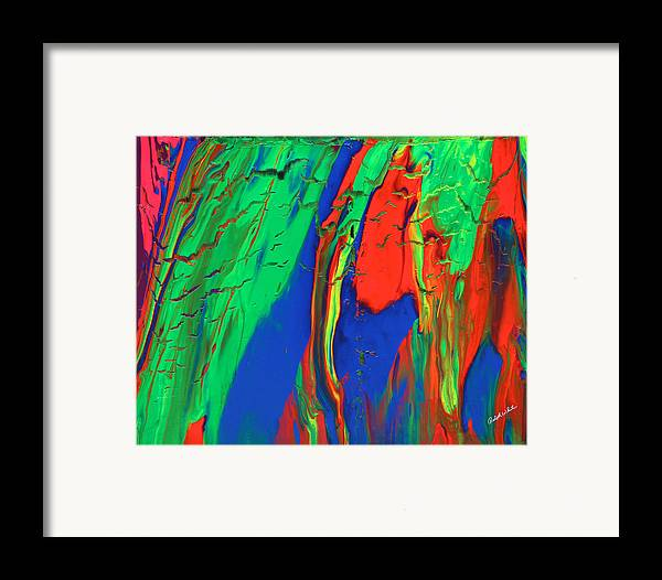 Fusionart Framed Print featuring the painting The Escape by Ralph White