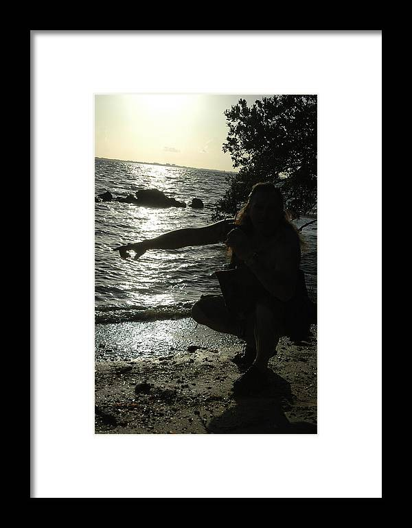 Beach Framed Print featuring the photograph The Experience by Kicking Bear Productions