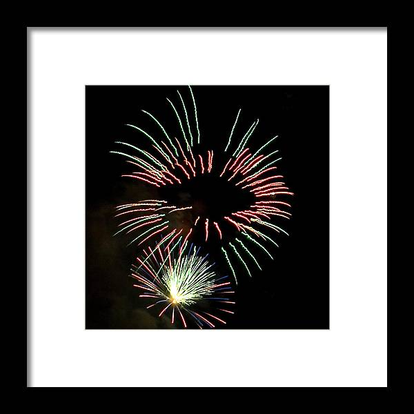Fireworks Framed Print featuring the photograph The Eyes Have It by David Patterson