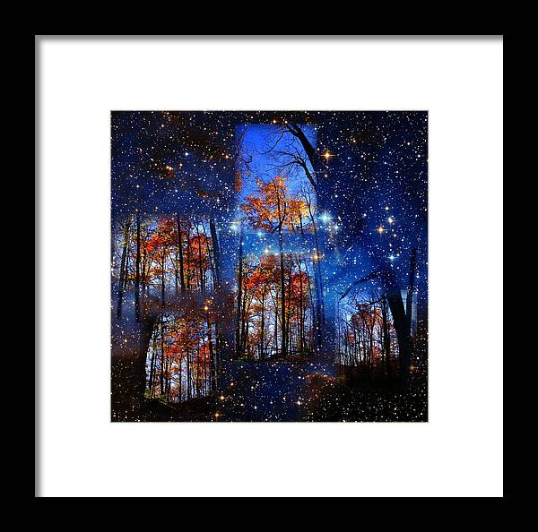 Deep Space Framed Print featuring the photograph The Face Of Forever by Dave Martsolf