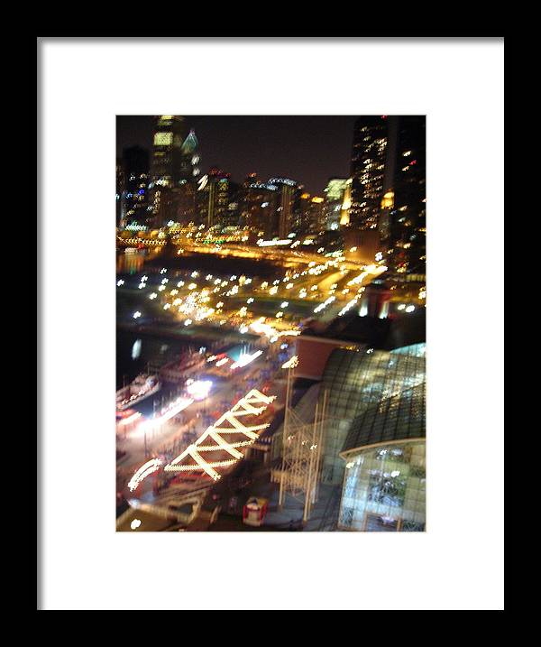 Chicago Framed Print featuring the photograph The Fast Lane by Peter Mowry