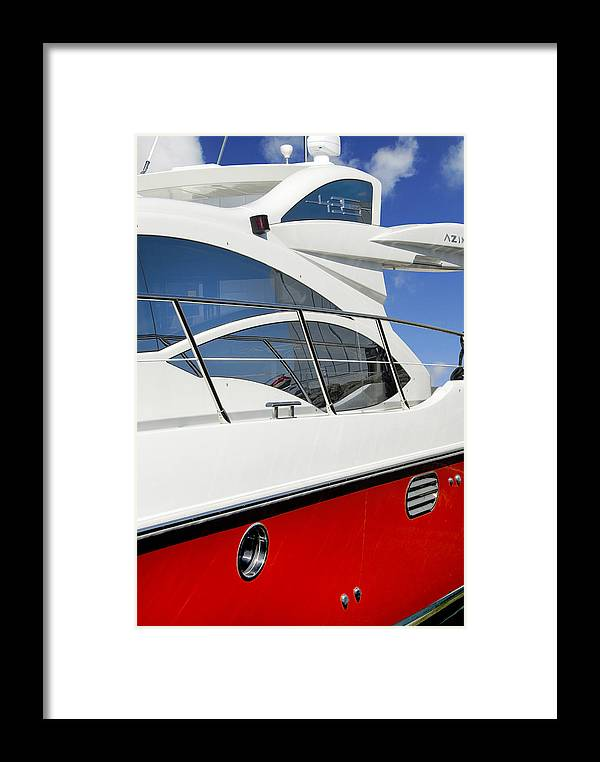 Boat Framed Print featuring the photograph The Fast Lane by Robert Lacy