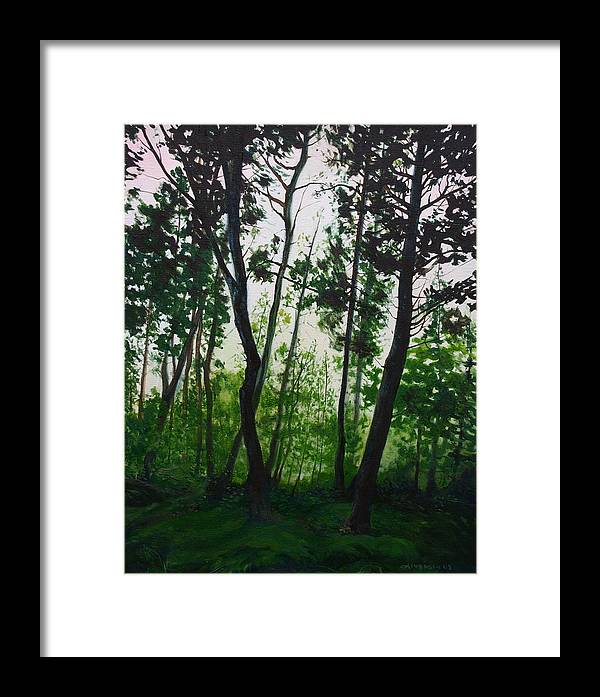 Fen Framed Print featuring the painting The Fen by Jill Iversen