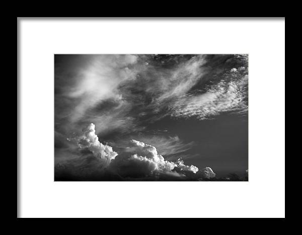 Clouds Framed Print featuring the photograph The Fine Art Of Clouds by Jim Darnall