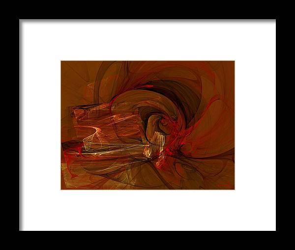 Flame Framed Print featuring the painting The Flame by Emma Alvarez