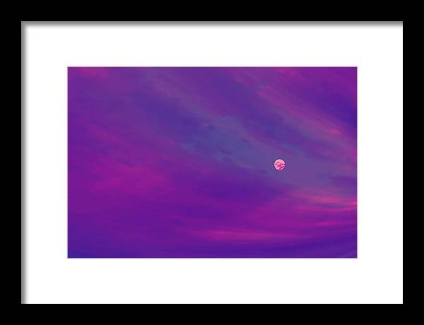 The Flight To Heaven Framed Print featuring the digital art The Flight To Heaven by Geoff Simmonds