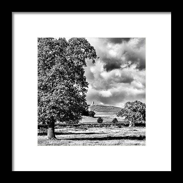 Parkland Framed Print featuring the photograph Old John Bradgate Park by John Edwards