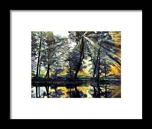 Forests And Trees Framed Print featuring the photograph The Forests Of Avalon by Mario Carini