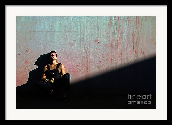 Light Framed Print featuring the photograph The Friend To My Friend... by Vadim Grabbe