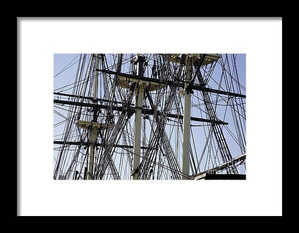 Salem Framed Print featuring the photograph The Friendship Of Salem Tall Ship In Salem Massachusetts Usa by Erin Paul Donovan