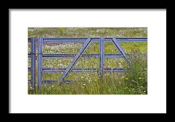 Gate Framed Print featuring the photograph The Gate II by Rebecca Cozart
