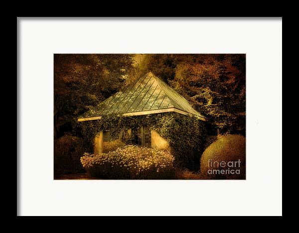 Gatehouse Framed Print featuring the photograph The Gatehouse by Lois Bryan