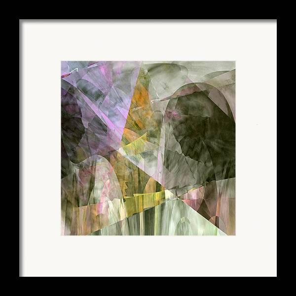 Prayer Framed Print featuring the digital art The Gift by Gae White
