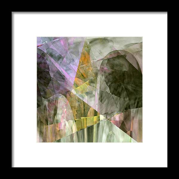 Prayer Framed Print featuring the digital art The Gift by Gae Helton